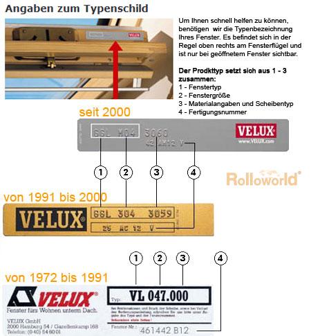 creme Verdunkelungsrollo ALU Thermo für Velux Dachfenster VE//VK//VS