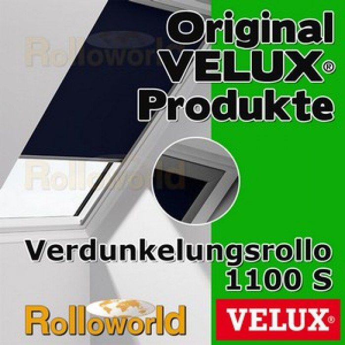 original velux verdunkelungsrollo rollo f r ggl gpl ghl gtl gxl dkl s08 1100s. Black Bedroom Furniture Sets. Home Design Ideas