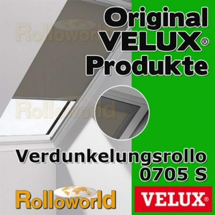 original velux verdunkelungsrollo rollo f r ggu gpu ghu gtu dkl p08 0705s alu. Black Bedroom Furniture Sets. Home Design Ideas