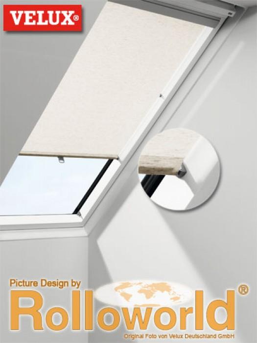 Extremely Rolloworld.de - Original Velux Sichtschutz-Rollo RHL manuell mit  IN01