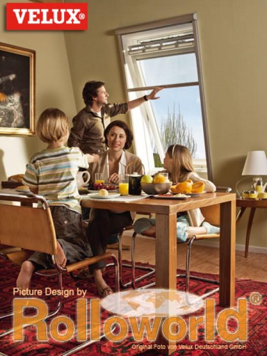 original velux insektenschutzrollo insektenschutz rollo f r typ dachfenster ggl. Black Bedroom Furniture Sets. Home Design Ideas