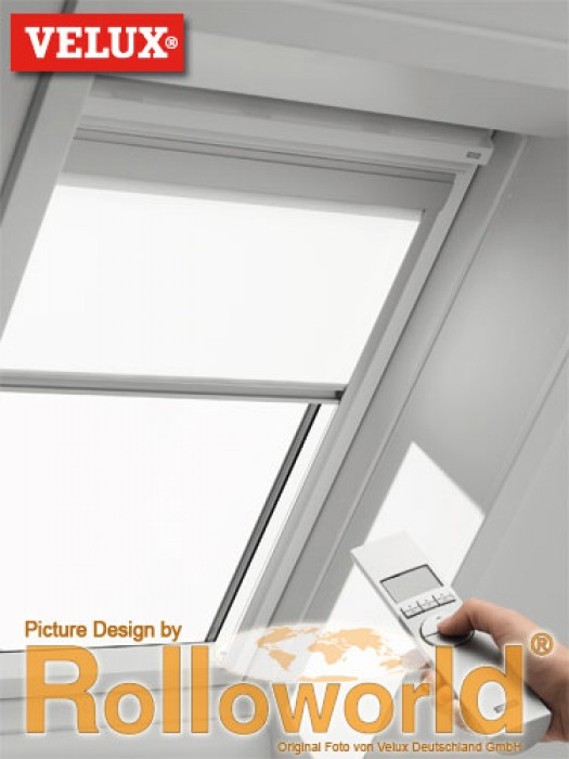 velux elektro sichtschutzrollo ggl ggu rml m06 306 p velux elektro. Black Bedroom Furniture Sets. Home Design Ideas