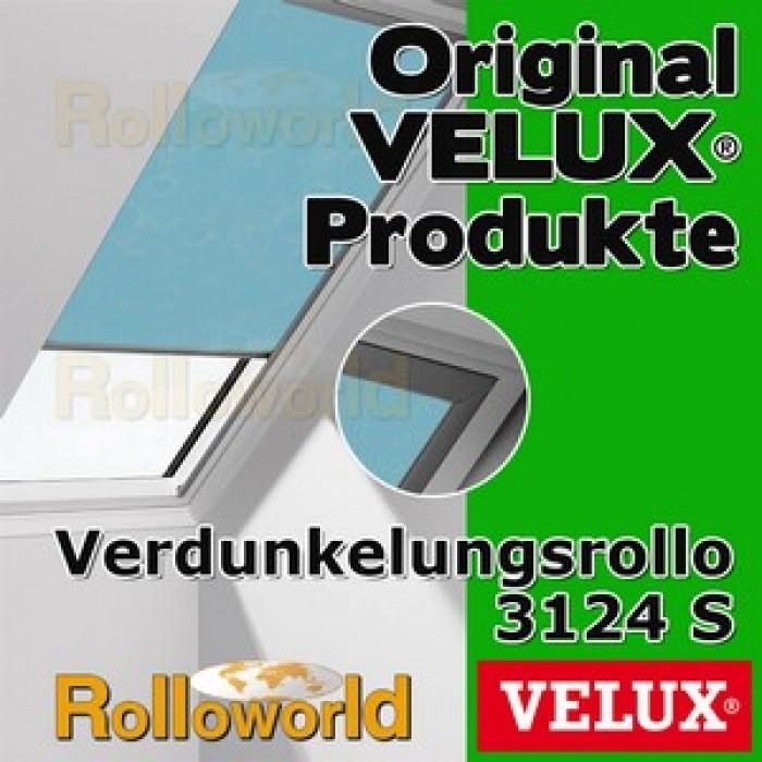 original velux verdunkelungsrollo rollo f r ggl gpl ghl gtl gxl dkl 104 3124s. Black Bedroom Furniture Sets. Home Design Ideas